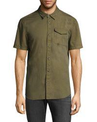 John Varvatos | Cotton Button-down Shirt | Lyst
