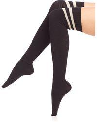 Ilux - Brittany Sporty Thigh-high Socks - Lyst