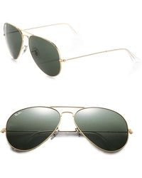 Ray-Ban - Original 62mm Aviator Sunglasses - Lyst
