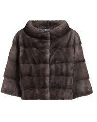 Saks Fifth Avenue The Fur Salon Julia & Stella For Mink Fur Cropped Bolero Jacket - Multicolor