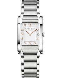 Baume & Mercier - Hampton 10049 Stainless Steel Bracelet Watch - Lyst