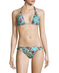 OndadeMar - Amazonia Triangle Bikini Top - Lyst