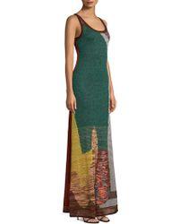 Missoni - Crochet-knit Maxi Dress - Lyst