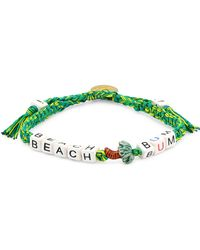 Venessa Arizaga Beach Bum Pull-tie Bracelet - Green