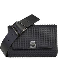 Akris Anouk Small Techno Belt Bag - Black