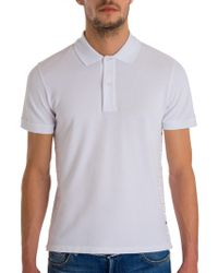 24c730f3 Valentino Men's Rockstud Polo - White in Blue for Men - Lyst