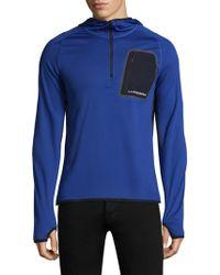 J.Lindeberg | Active Hooded Running Jacket | Lyst