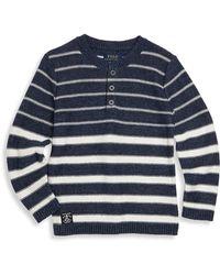 Ralph Lauren - Little Boy's Ribbed Stripe Tee - Lyst
