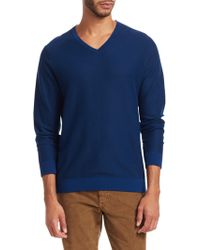 Saks Fifth Avenue - Collection Stripe Wool-blend Jumper - Lyst