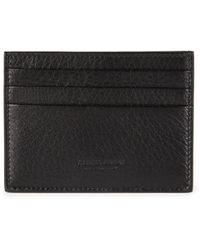 Emporio Armani - Leather Card Holder - Lyst