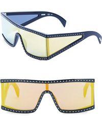 Moschino - Multilayer 99mm Futuristic Sunglasses - Lyst