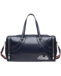 Bally - Fred Leather Duffel Bag - Lyst