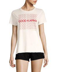 Spiritual Gangster - Karma Aurora Tee - Lyst