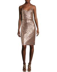 Jenny Yoo - Emery Sequin Tulle Dress - Lyst