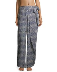 ViX - Corales Striped Trousers - Lyst
