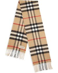 Burberry - Kid's Explode Check Cashmere Scarf - Lyst