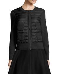 Moncler - Maglione Alla Jacket - Lyst