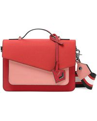 Botkier Cobble Hill Colorblock Leather Satchel - Pink