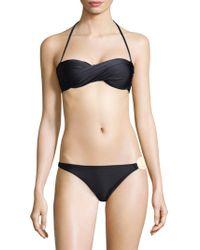 Sinesia Karol - Ivanka Twist Bikini Top - Lyst