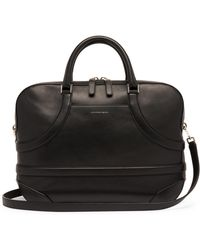 Alexander McQueen - Harness Leather Briefcase Bag - Lyst
