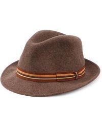 Saks Fifth Avenue - Collection Wool Felt Fedora - Lyst