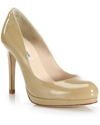 L.K.Bennett - Sledge Patent Leather Court Shoes - Lyst