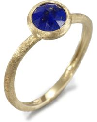 Marco Bicego - Jaipur Resort Lapis & 18k Yellow Gold Ring - Lyst