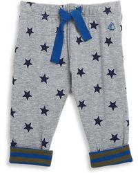 Petit Bateau - Baby's Lavantou Star-printed Trousers - Lyst