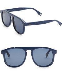 Fendi - 54mm Pilot Sunglasses - Lyst