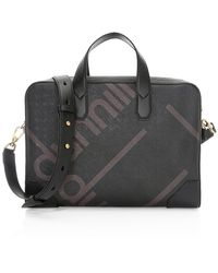 Dunhill Luggage Canvas Document Case - Black