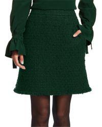 Akris Punto - Tweed A-line Skirt - Lyst
