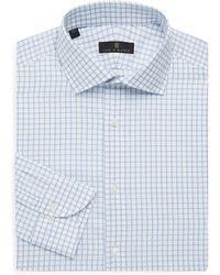 Ike Behar - Regular-fit Check Dress Shirt - Lyst