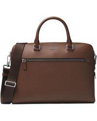 Michael Kors - Harrison Leather Briefcase - Lyst