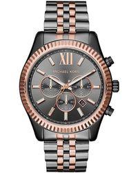 Michael Kors Lexington Watch - Black