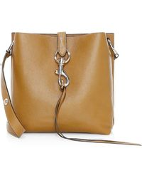 Rebecca Minkoff - Small Megan Leather Feed Bag - Lyst