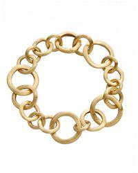 "Marco Bicego 18k Yellow Gold ""jaipur"" Small Link Bracelet - Metallic"