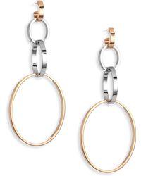 Vita Fede - Cassio Tri-tone Hoop Earrings - Lyst