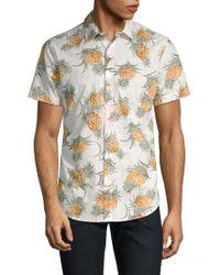 Bonobos - Pineapple-print Short-sleeve Button-down Shirt - Lyst