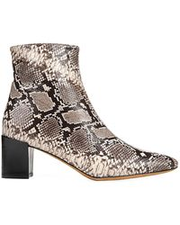 Vince Snake Lanica Boot - Natural