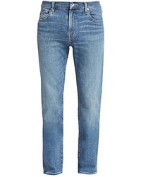 7 For All Mankind - Slimmy Clean Pocket Jeans - Lyst