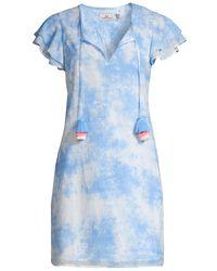 Vineyard Vines Tie-dyed Tunic Dress - Blue