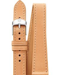Michele Watches - Women's Leather Watch Strap/16mm - Tan - Lyst