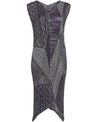 Issey Miyake - Random Glow Pleats Dress - Lyst