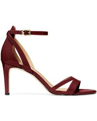 MICHAEL Michael Kors - Kimberly Patent Leather Sandals - Lyst