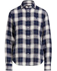 Polo Ralph Lauren Plaid Shirt - Blue