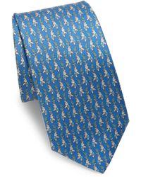 Ferragamo - Elephant Paisley Silk Tie - Lyst