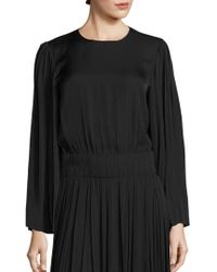 Elizabeth and James - Ava Pleated Sleeve Top - Lyst