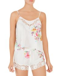 In Bloom - Two-piece Paradise Camisole And Shorts Set - Lyst