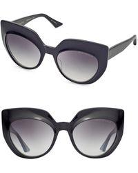 76eb8d3b07ce Dita Eyewear - Conique 53mm Cat-eye Sunglasses - Lyst