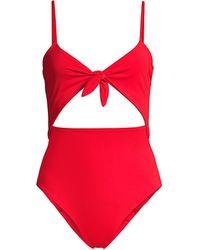 Mara Hoffman Kia One-piece Bikini - Red